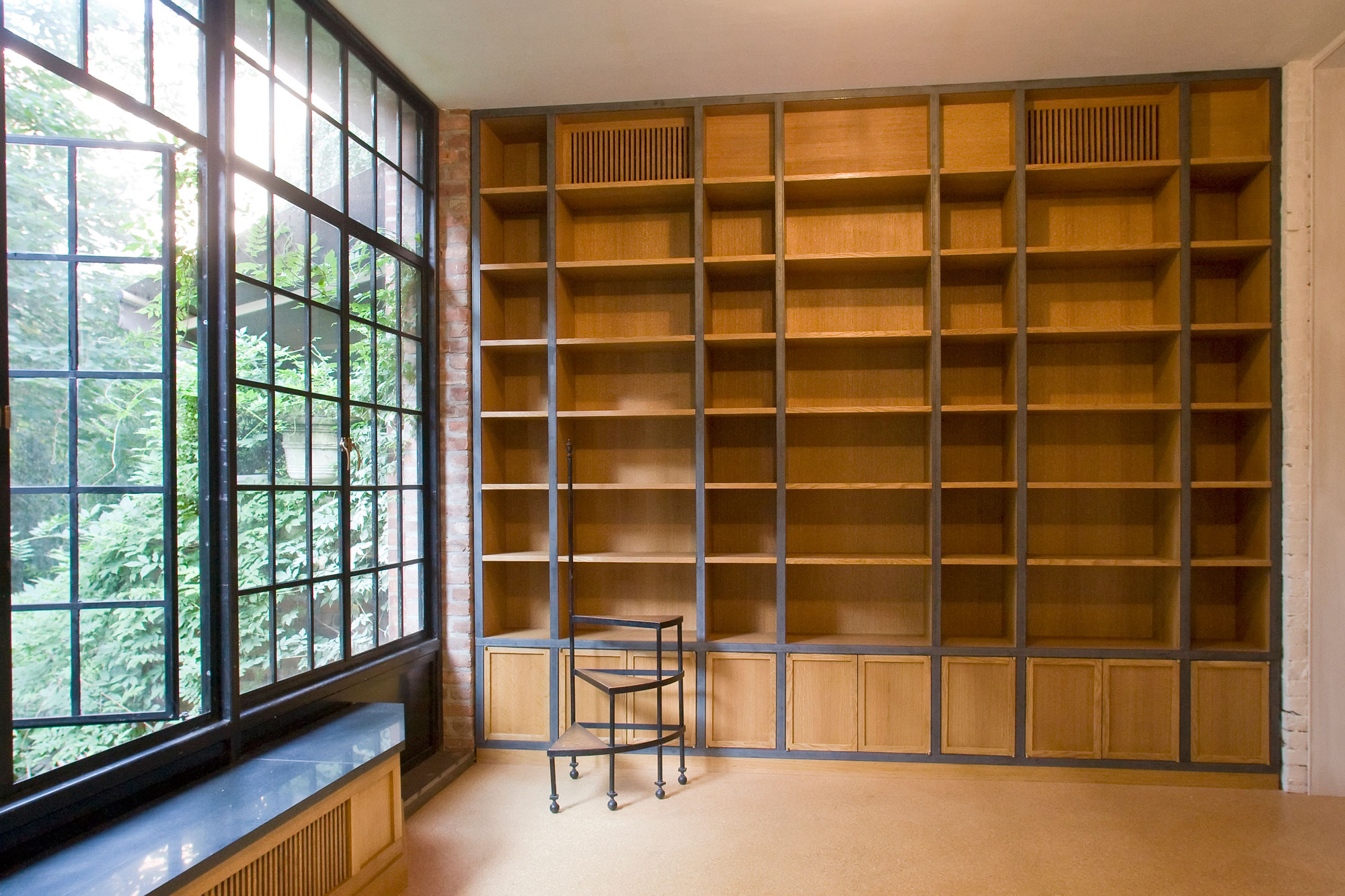 West Village Brownstone - Parlor Level Library
