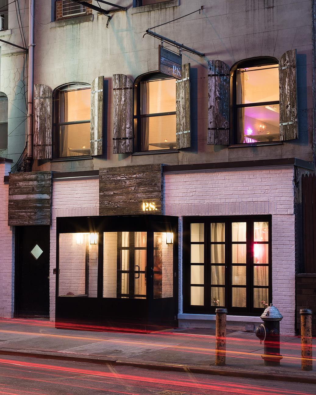 p.s. kitchen - 48th street facade