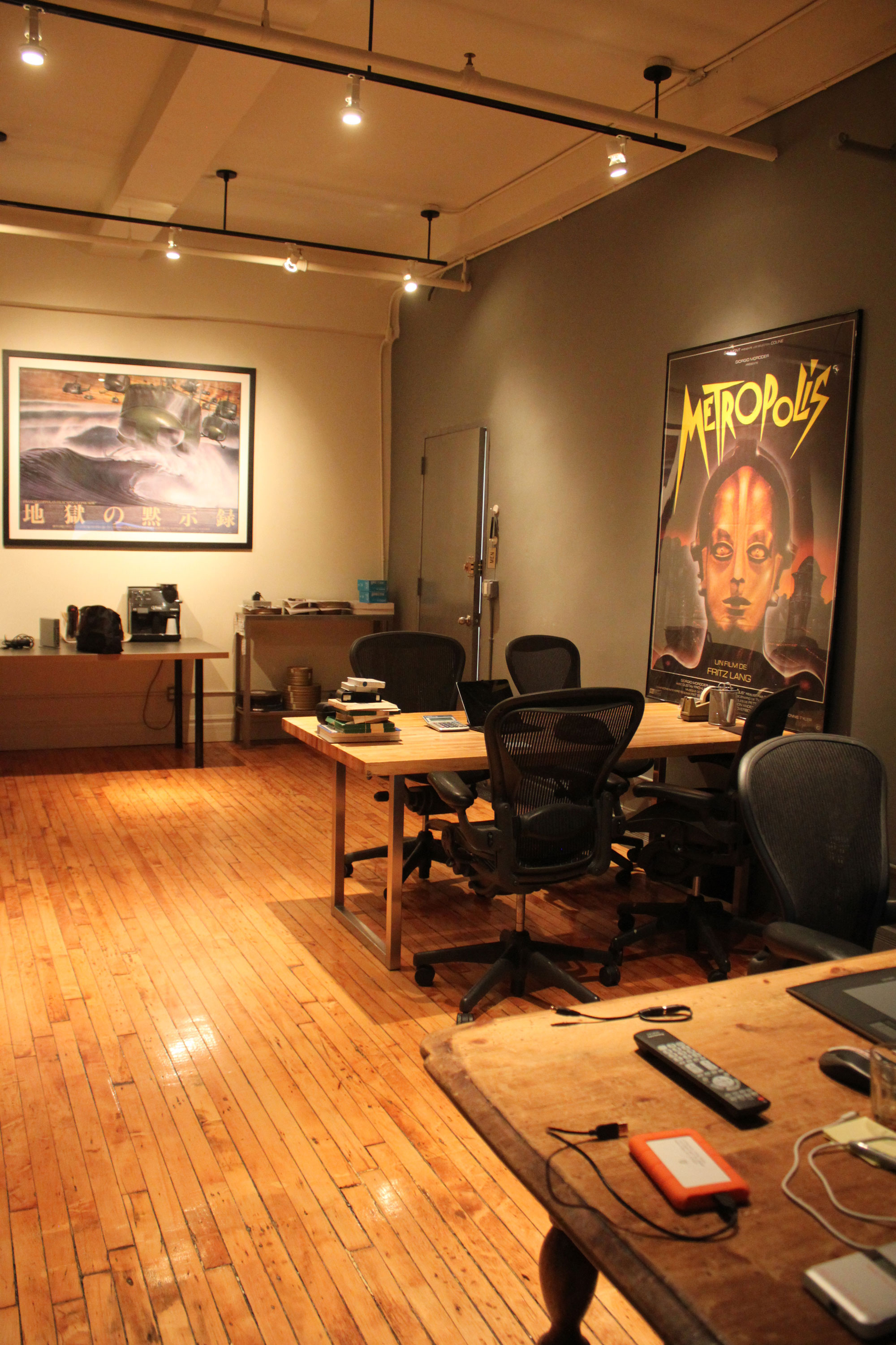metropolis post - production office & waiting area