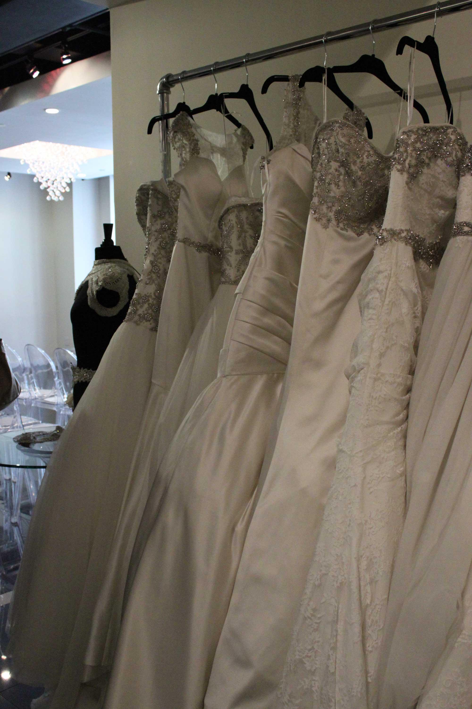 Impression Bridal - Fashion Show Runway with Crystal Chandeliers