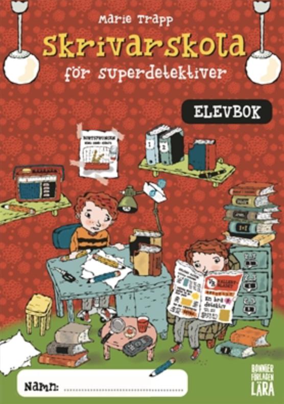 Skrivarskola för superdetektiver (elevbok 10-pack, åk 2-6)