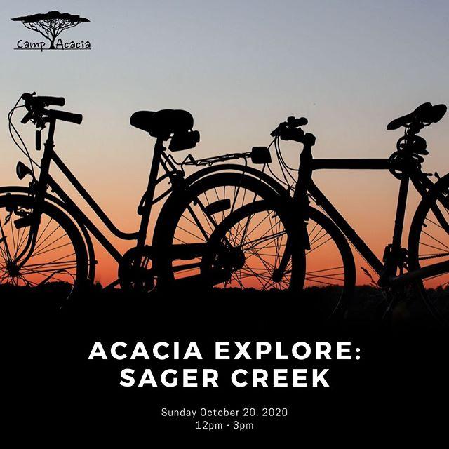 Today from 12-3 join us to ride Sager Creek Trail's North Loop! Rides leaving at 1215, 115, and 215!! #AcaciaExplore #Acacia #CampAcacia #biking #bikingNWA #northwestarkansas #mountainbiking