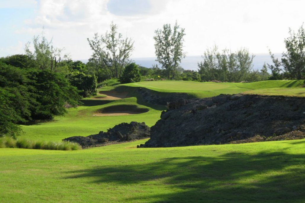 Royal Westmoreland is one of the top golf courses in the Caribbean, with a series of unique and challenging holes.  JIM BYERS PHOTO