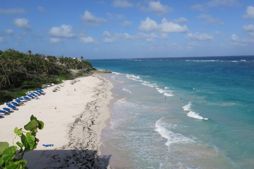 Crane Beach is a fabulous swimming and walking beach at the Crane Resort, Nip across the road and try a flying fish sandwich and rum punch at Cutter's Restaurant.  JIM BYERS PHOTO