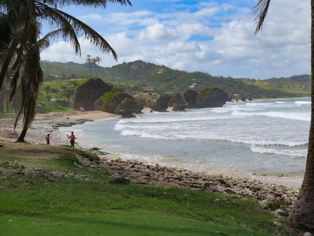 Bathsheba is an east coast village known for great surfing and rocky outcroppings; a very different feel from the western side of the island.  JIM BYERS PHOTO