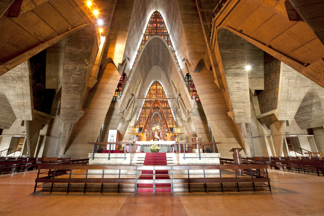 20. La Basílica de Higüey (The Basilica of Higüey):  The Basilica of Higüey is one of the most acclaimed cathedrals in the country because of its original architecture and unconventional stained-glass embellishments. 20. La Basílica de Higüey (The Basilica of Higüey):  The Basilica of Higüey is one of the most acclaimed cathedrals in the country because of its original architecture and unconventional stained-glass embellishments.
