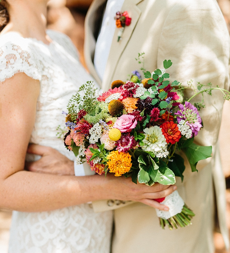 Frida Kahlo Bridal Bouquet  Photography by Hannah Rose Gray