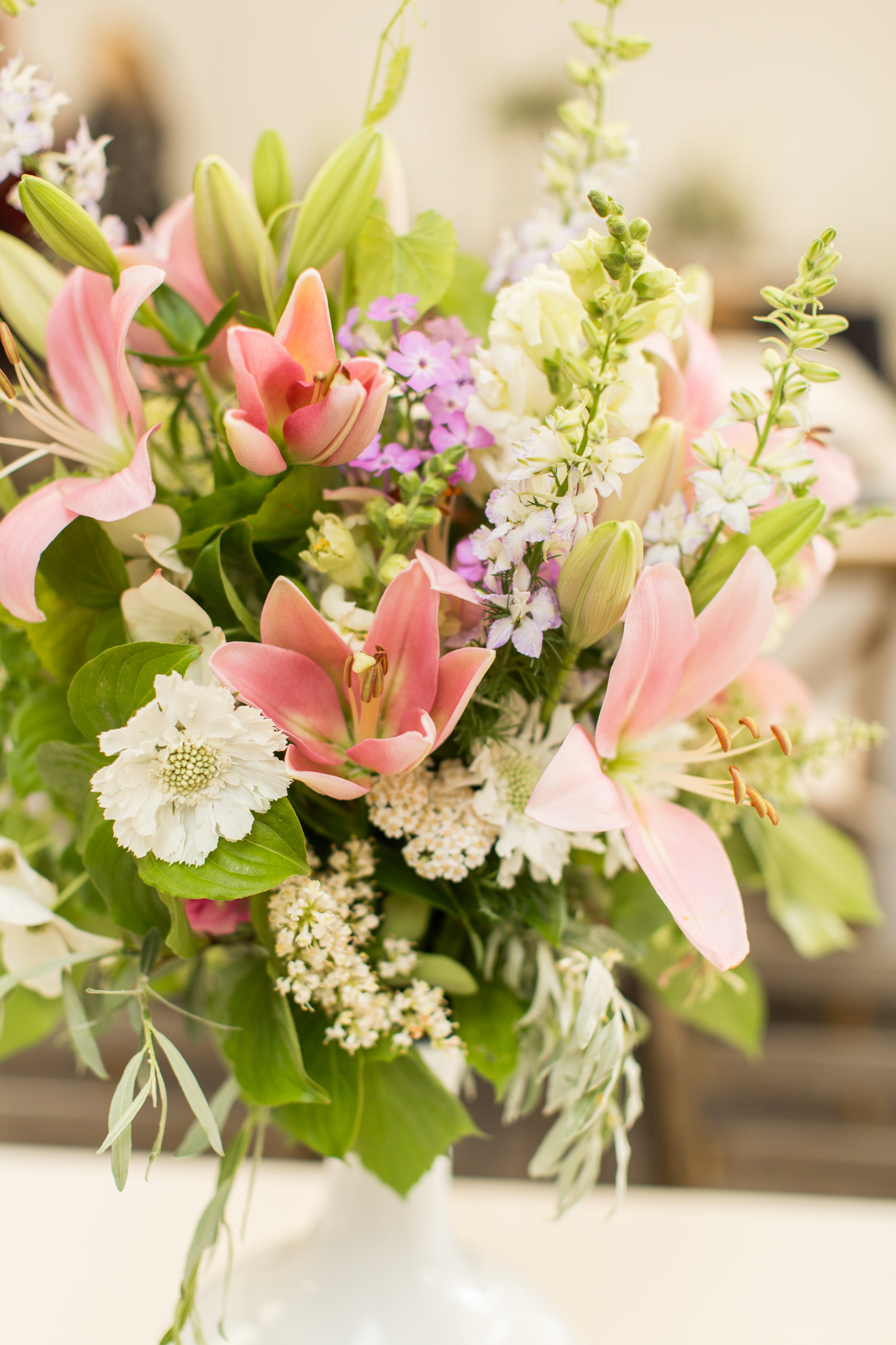 Large Luscious Lily Centerpiece