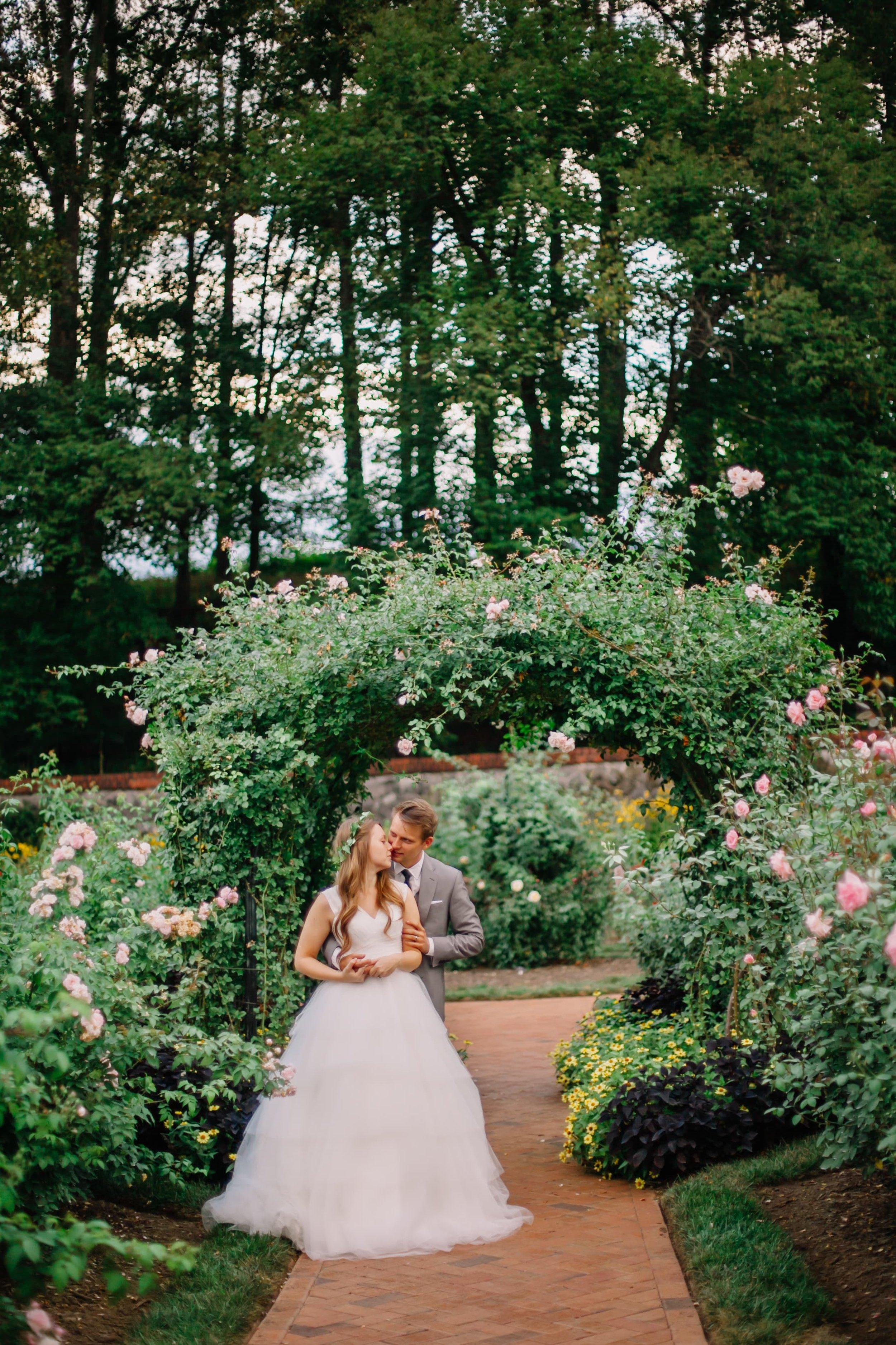 wedding arch garden