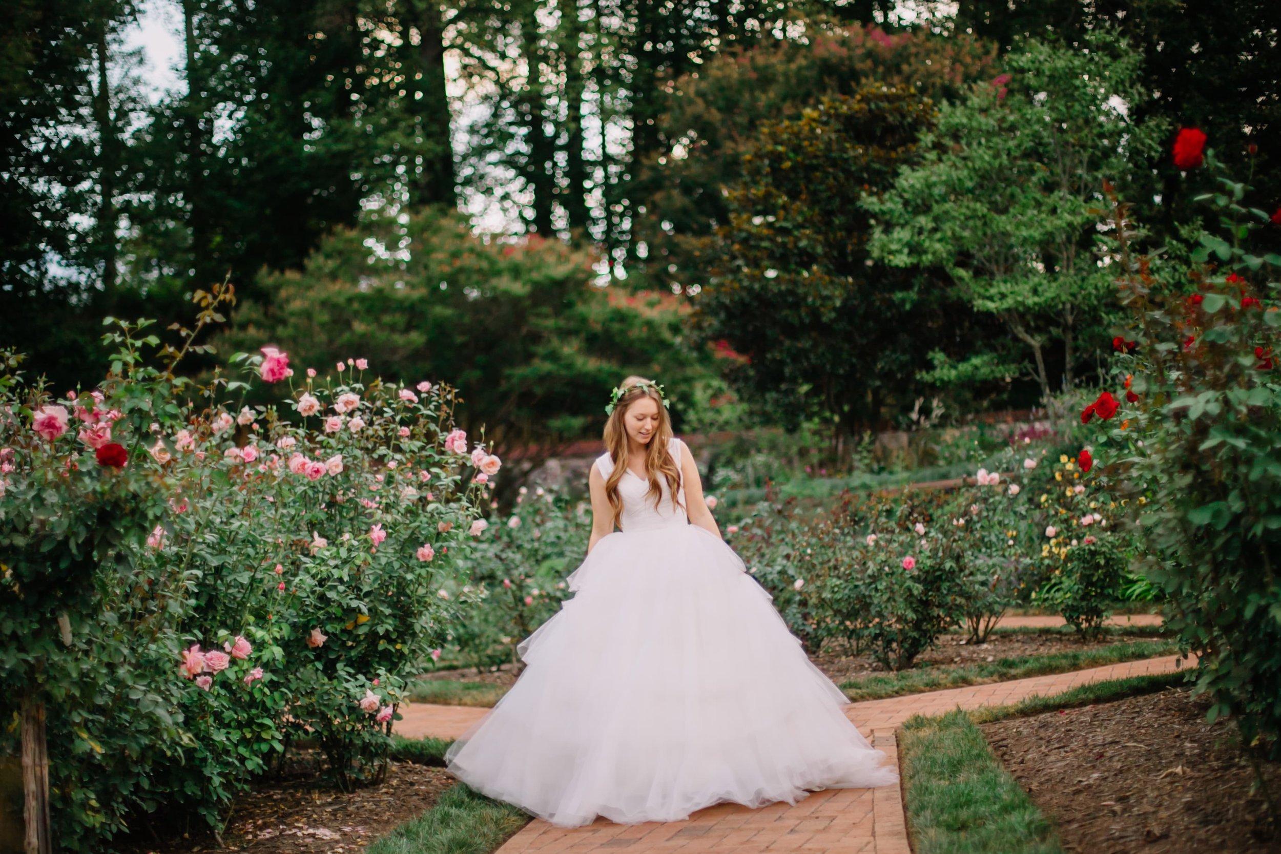 wedding rose garden