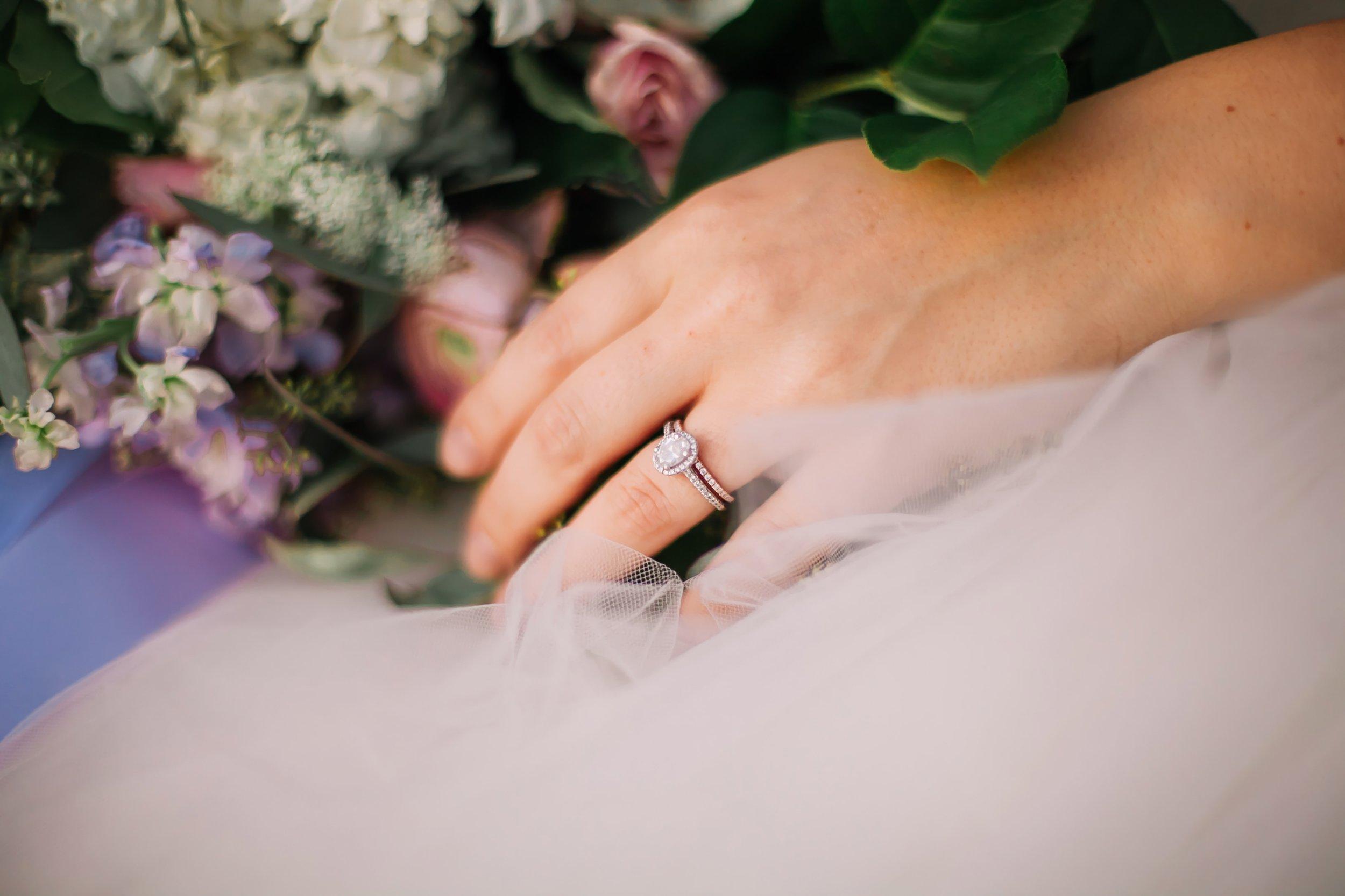 wedding details florals