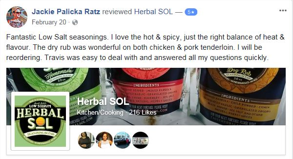 Click Here to Read More About Herbal SOL