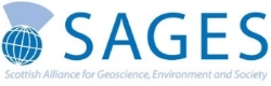 Scottish Alliance for Geoscience, Environment and Society logo