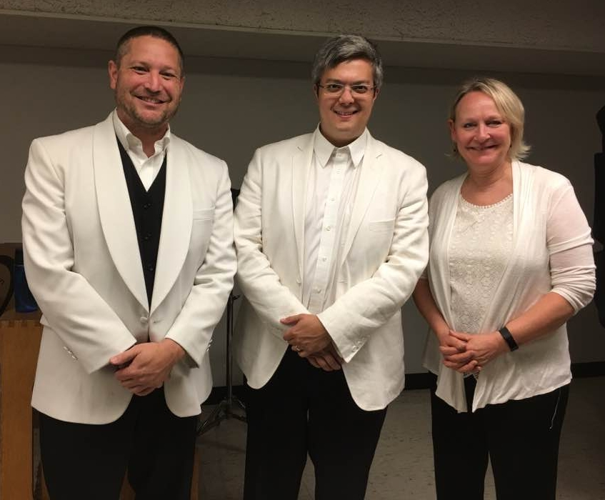 2017 Bellingham Festival Orchestra bassoonists (L-R) Eric, Andrew Cuneo (St. Louis Symphony Orchestra), and Mona Butler (Pacific Northwest Ballet and Seattle Opera).