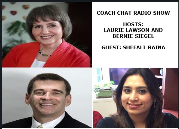 Shefali Raina Interview on Coach Chat Radio
