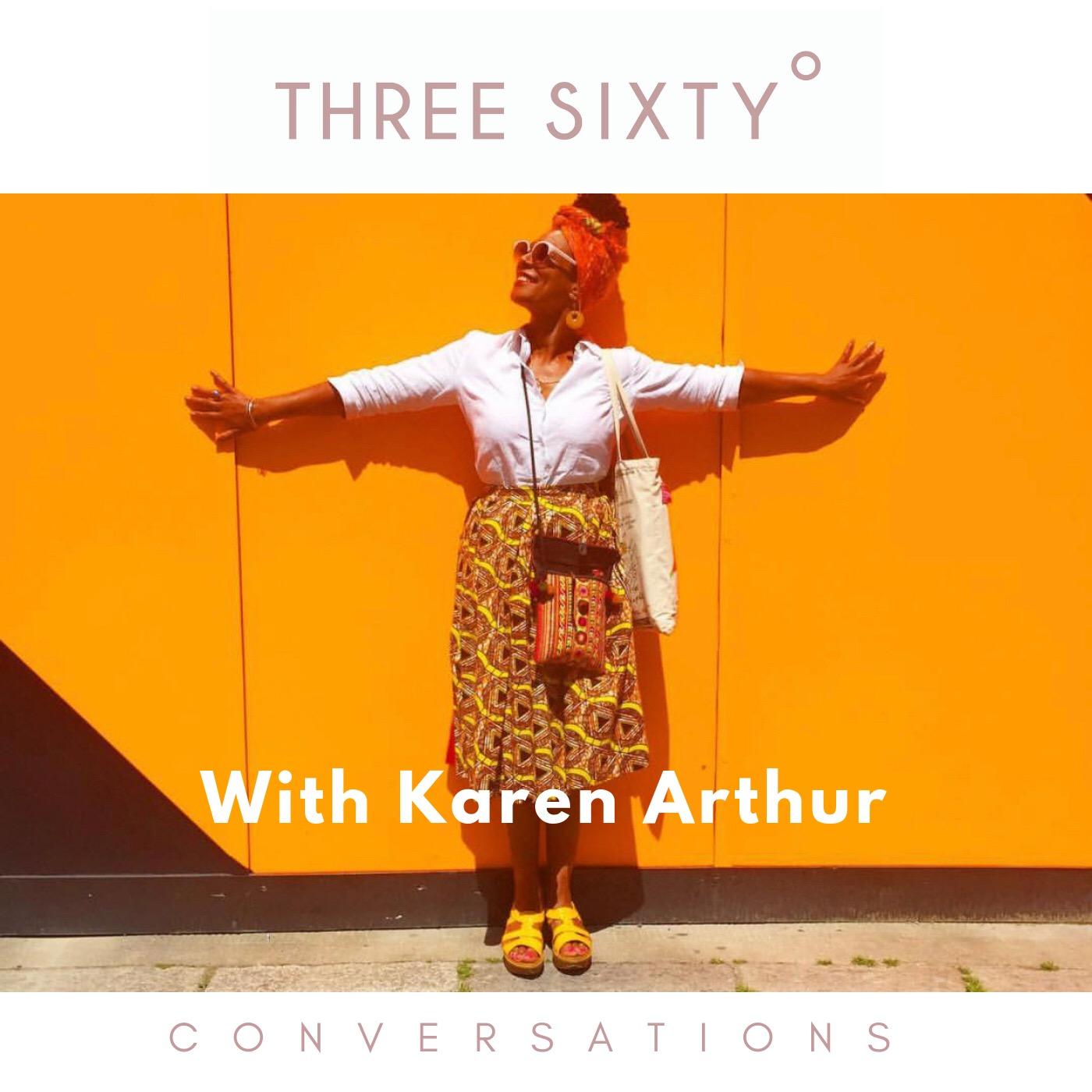 karen arthur, redeskin uk, tamu thomas, live three sixty, black girl magic, Candice Brathwaite, sharmadean Reid, Freddie Harrell, wellness, menopause, fashionable pan