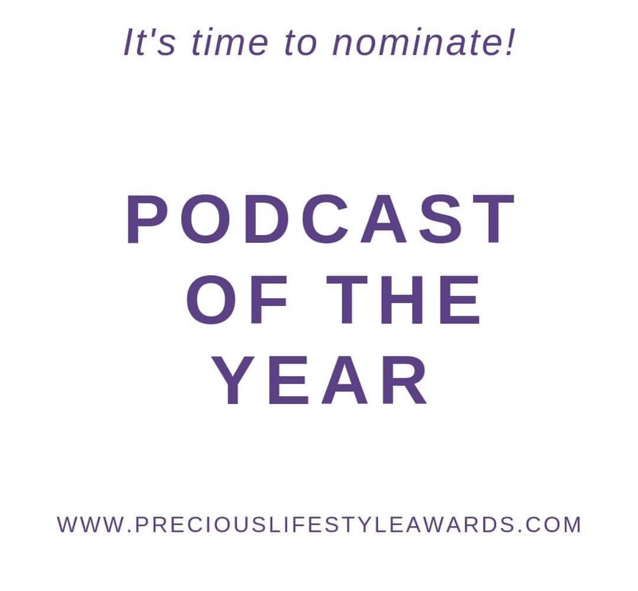 precious lifestyle award , award winning podcast, Tamu Thomas