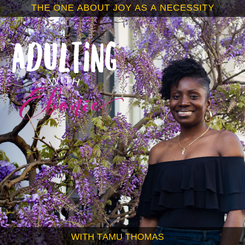 adulting with Ebonie, everyday joy, 40+ wellness, Tamu Thomas