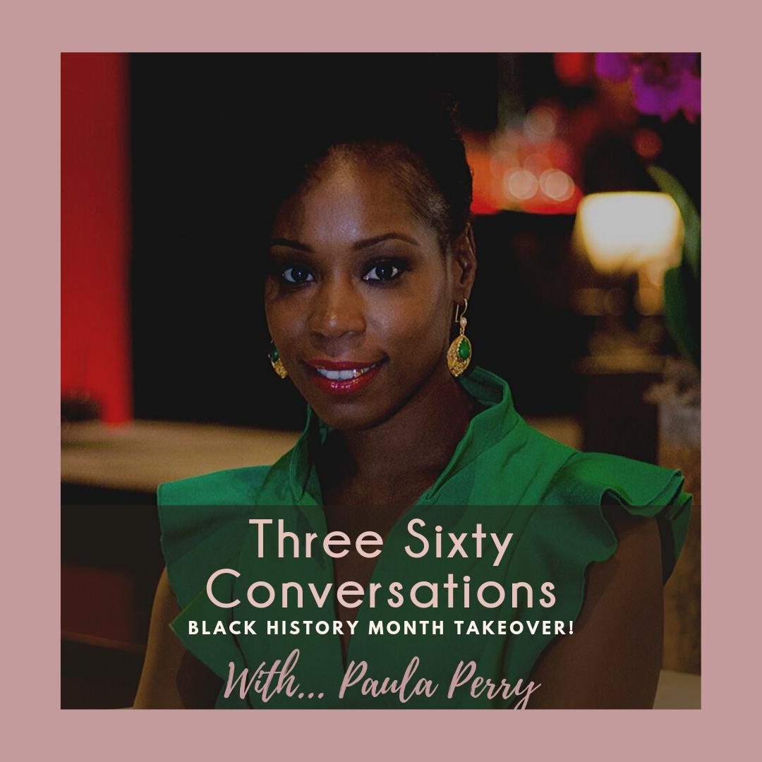 Paula Perry, black Wall Street, black history month