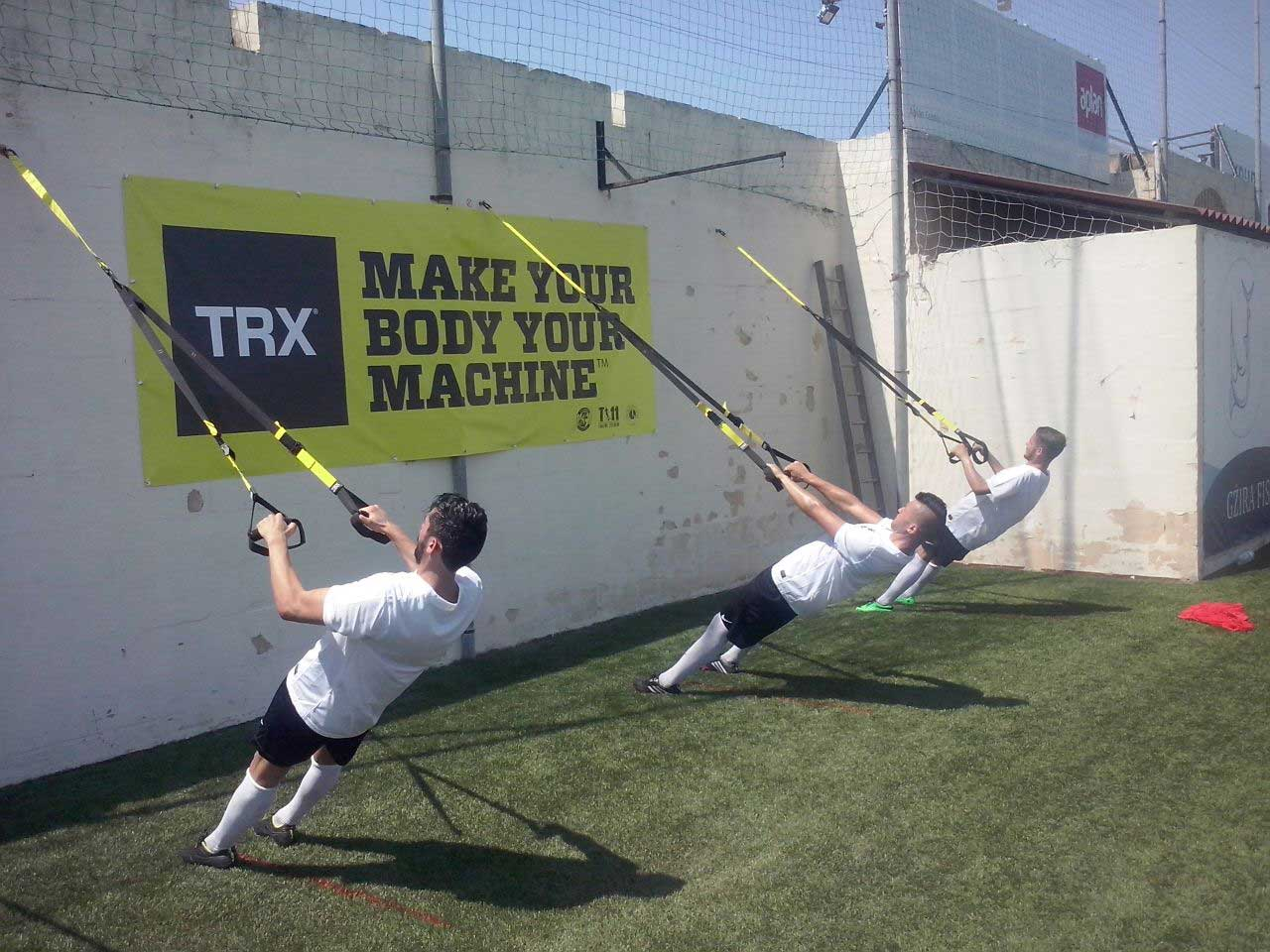 T11, allenamento ragazzi