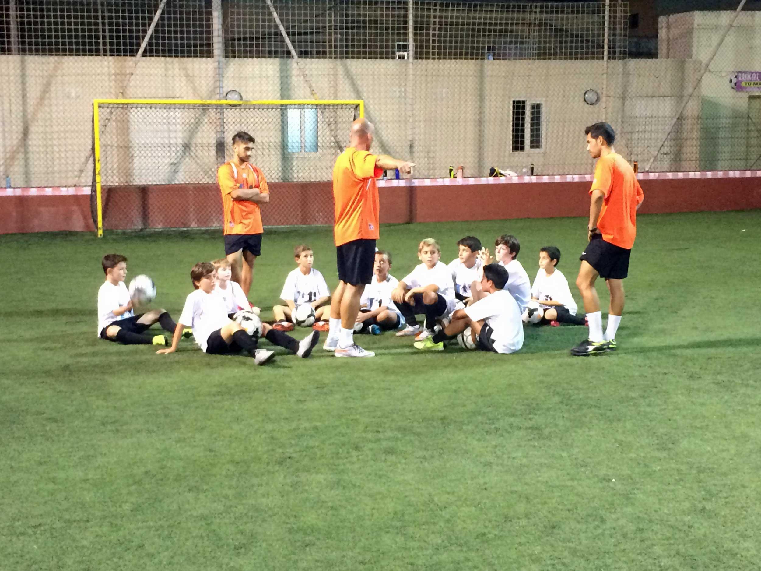 T11, allenamento bambini