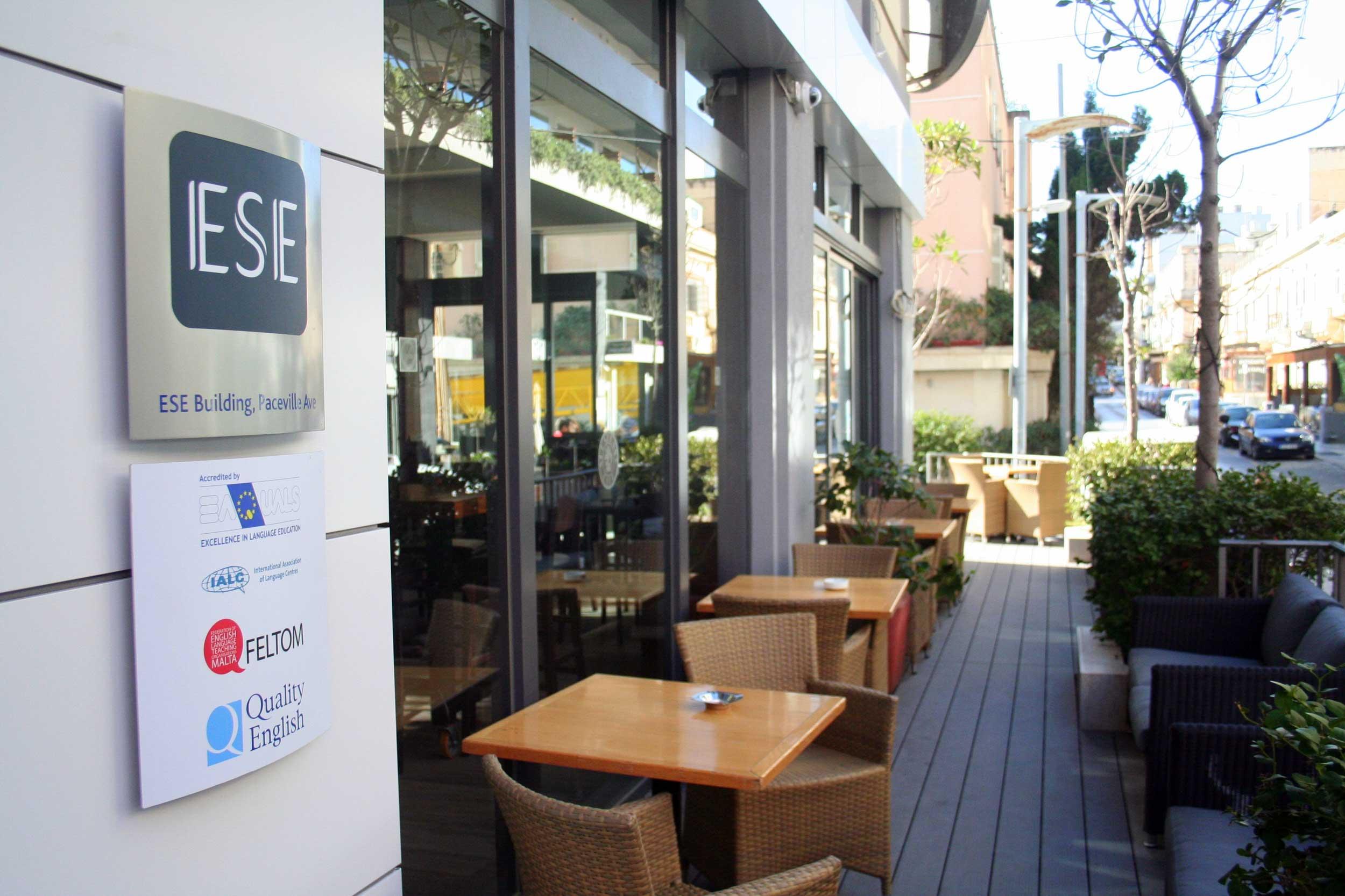 ESE School, terrace