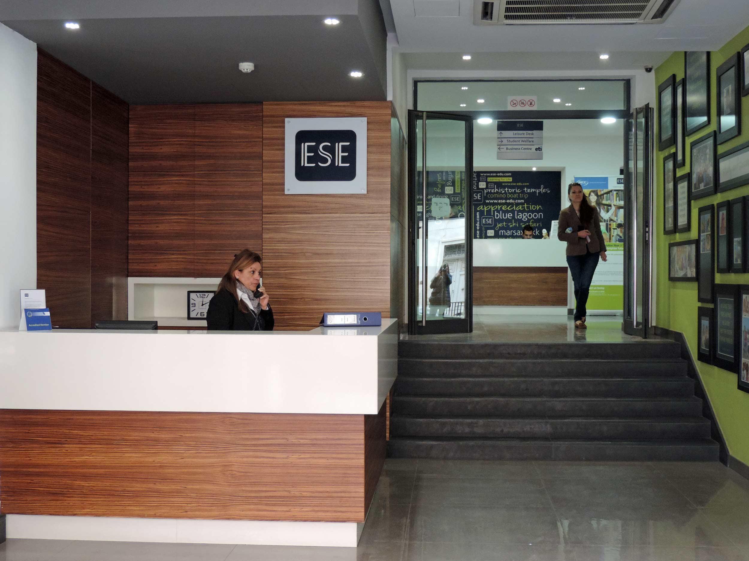 ESE School, reception