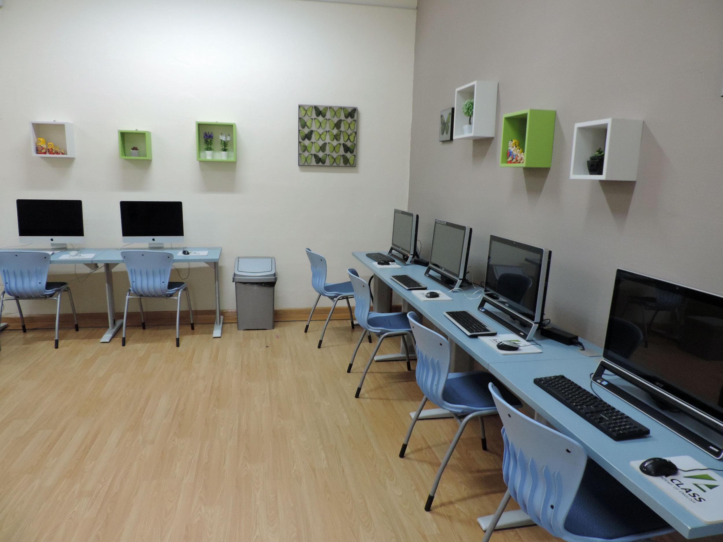 AClass, computer's room