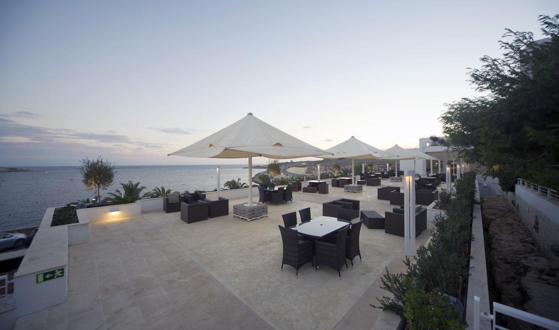 Salini Resort, terrazza