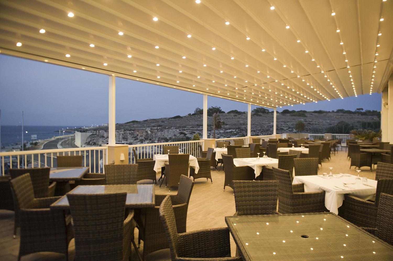 Salini Resort, ristorante-terrazza