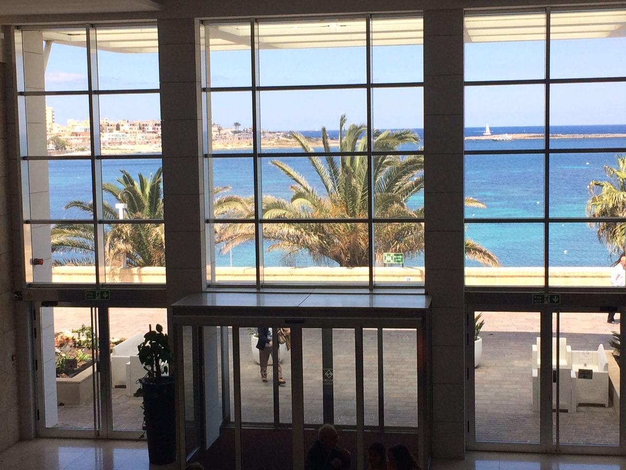 Salini Resort, hall-vista