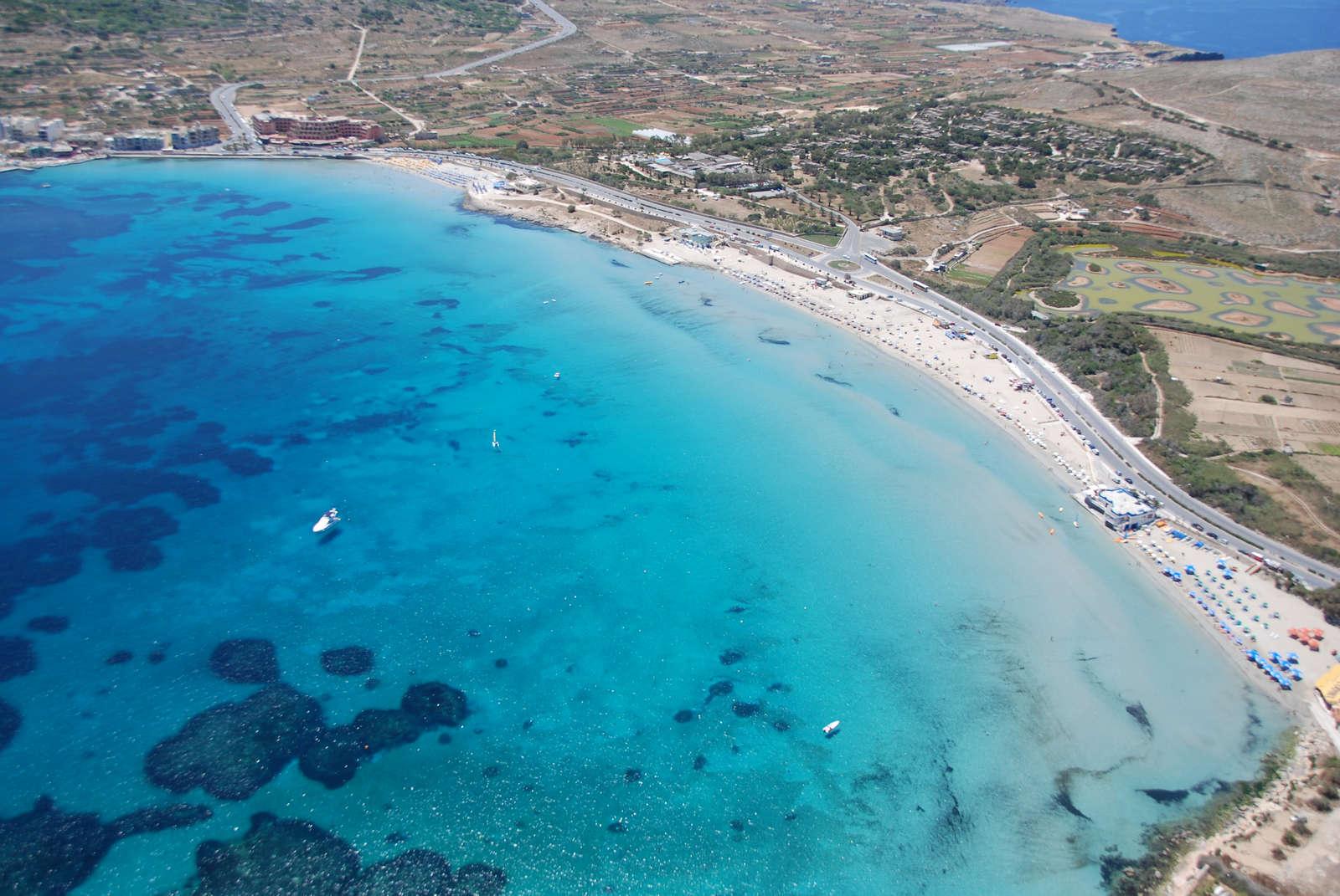 Ghadira Bay - vista aerea