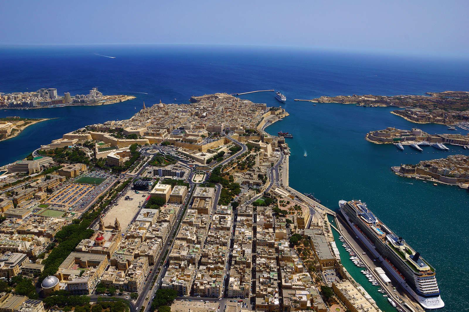 Valletta - vista aerea