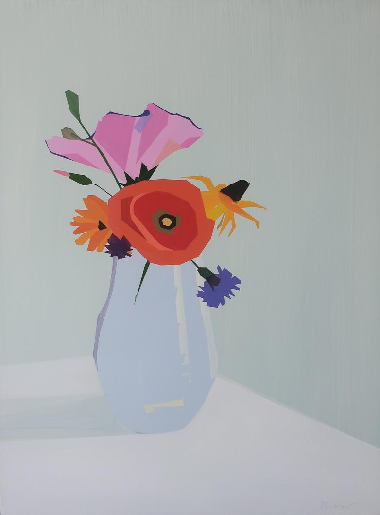 Bouquet with Poppy