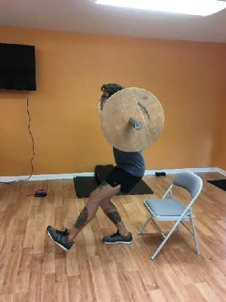 Single Leg Squat with Weight