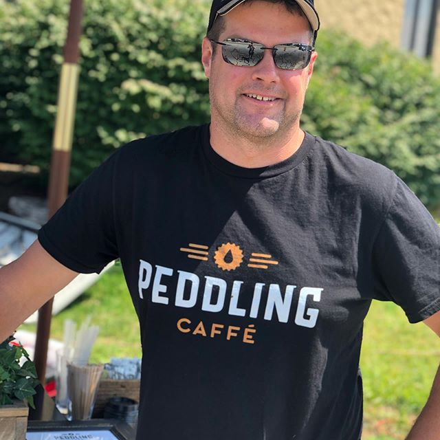 We've got new hats and t's . Thanks to our friends @magnificodesign for coming up with a great logo!! #peddlingcaffecaterers #hatandtshirtday #magnificodesign