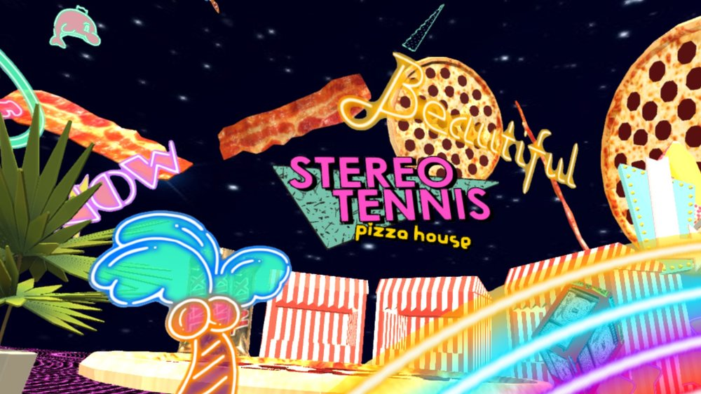 TEREO TENNIS『STEREO TENNIS NEON TOWN』