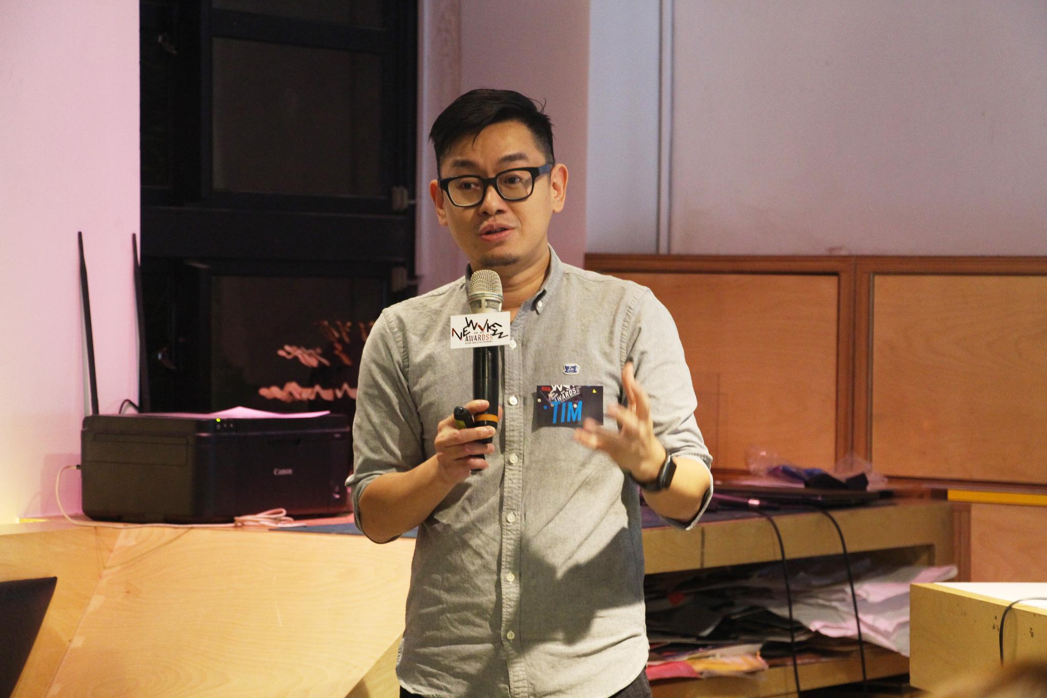 FabCafe TaipeiファウンダーのTim Wong
