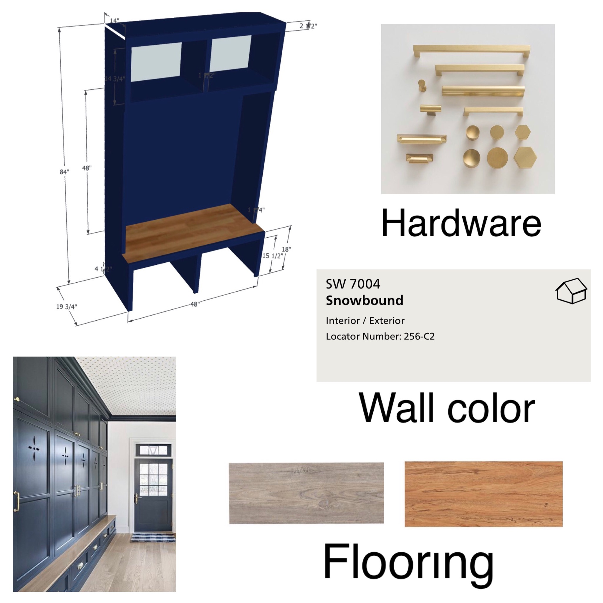 mudroom design board interior designer Manhattan, ks