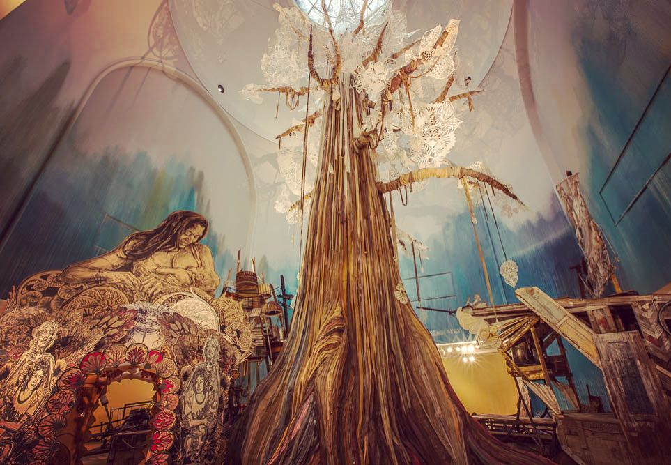 Submerge Motherlands Photography by Swoon
