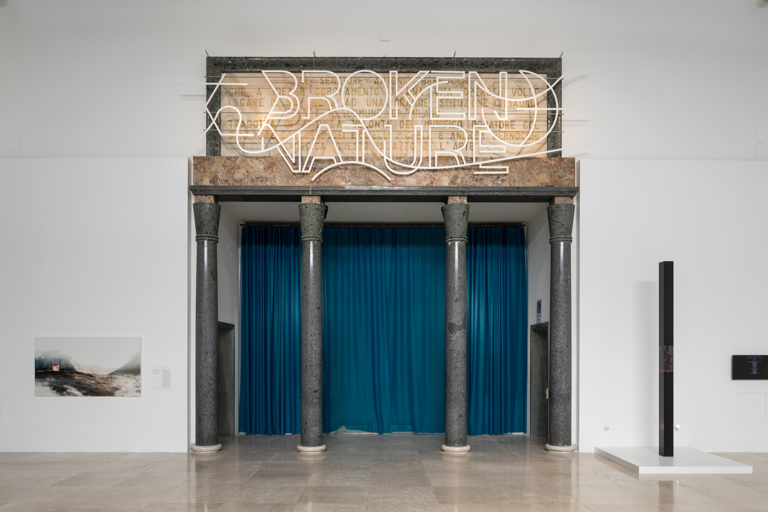 The Broken Nature exhibition in Milan includes multiple examples of projects related to this theme