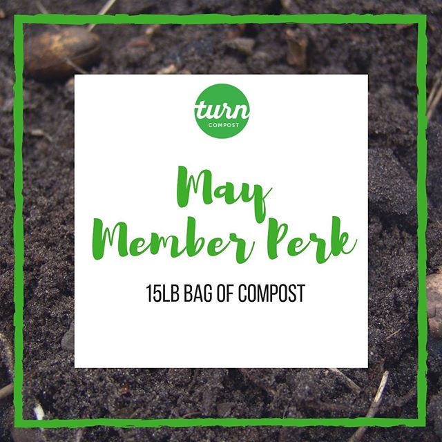 Turn residential members, it's finally here! Your May member perk, which will be delivered this week, is a 15 lb bag of compost made from your food scraps!  Please save the bags they are delivered in and return them to us at your convenience so that we can reuse them for your Fall compost delivery. Thank you for choosing Turn to recycle your organic waste and rebuild our urban soil 👩🏼‍🌾 . #turncompost #turndallas #gogreen #freshcompost #composting #urbansoil #soilrebuilding #urbangarden #dallasgardens #bokashi #bokashicomposting #dallassmallbusiness