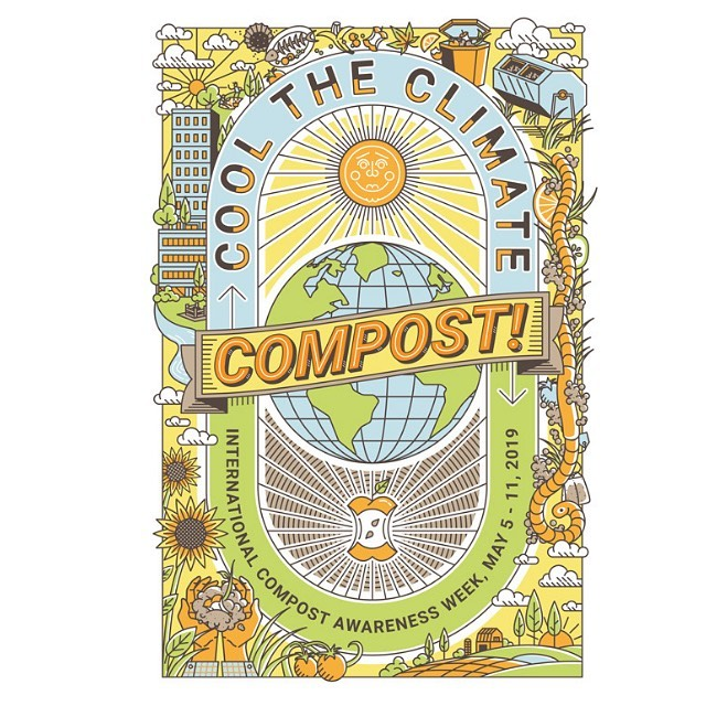 Happy International Compost Awareness Week! Check out the @compostingcouncil website for events happening in your area and more information! . . #turndallas #turncompost #uscompostingcouncil #icaw #compost #composting #internationalcompostawarenessweek #feedpeoplenotlandfills #divertingfoodwaste #feedpeopkenotlandfills
