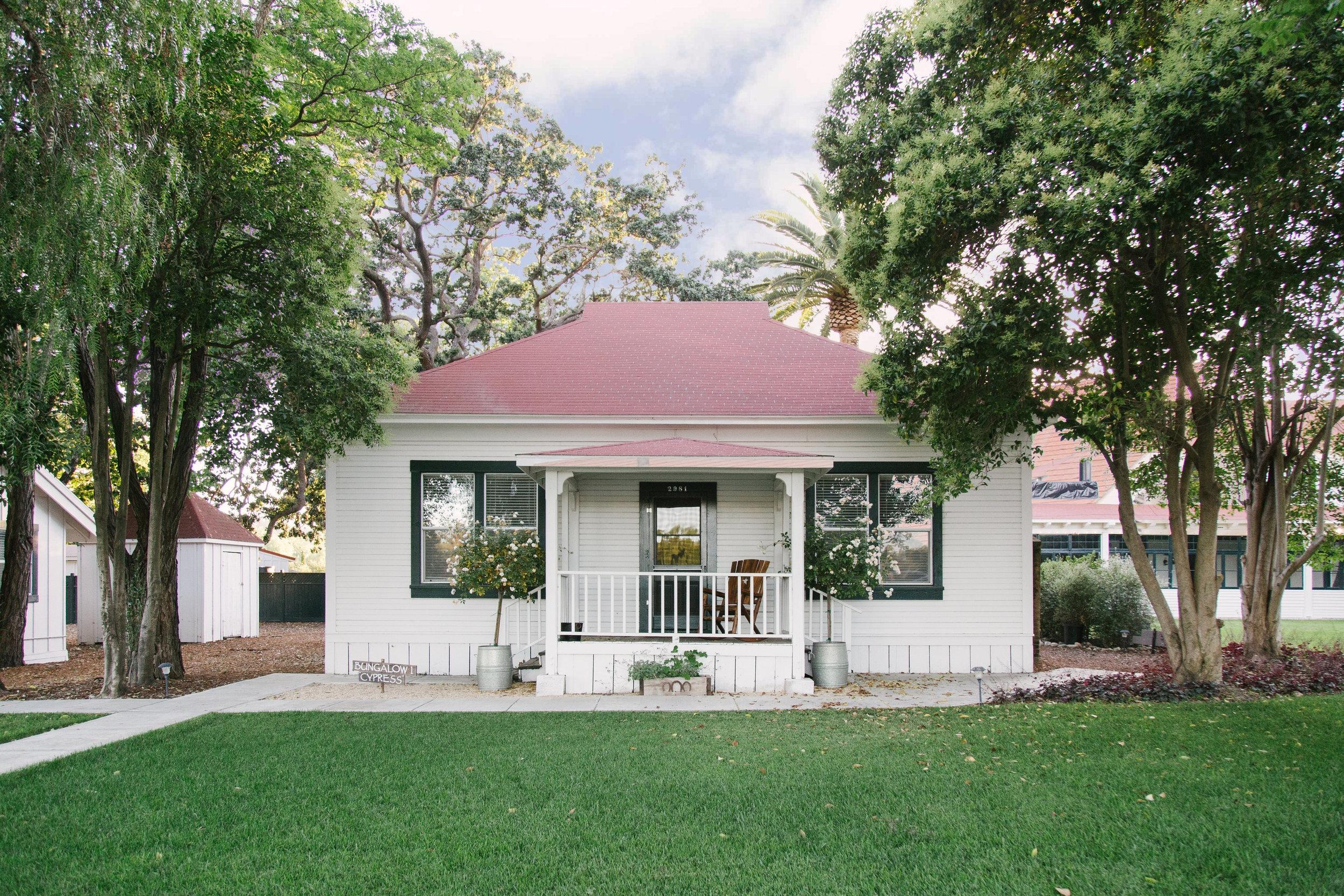 Bungalow 1 - Cypress - 2 bedrooms, 1 bathroom, accommodates 4