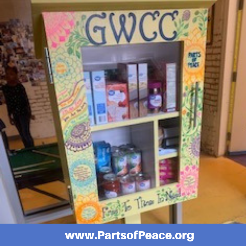 Our first PoP Pantry was placed at the Greenmount West Community Center. -