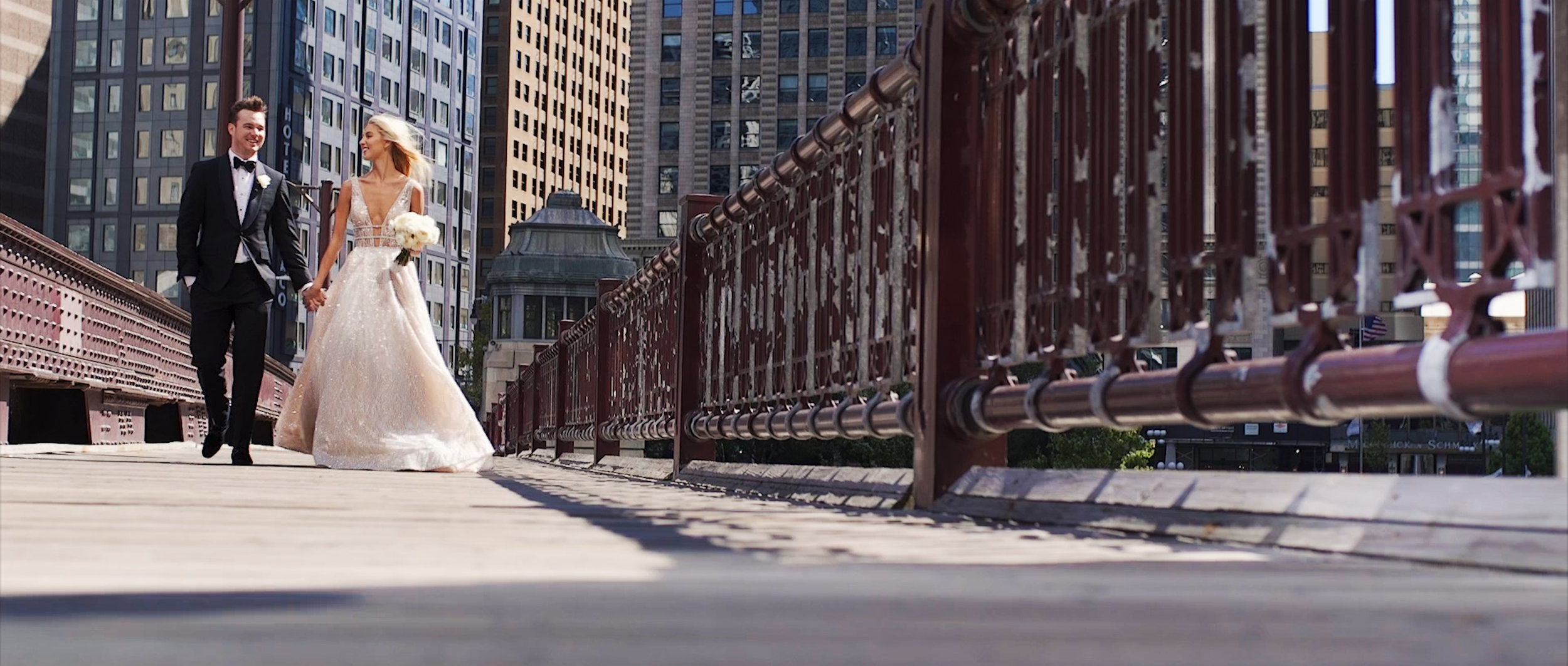 Downtown Chicago Wedding Videographer