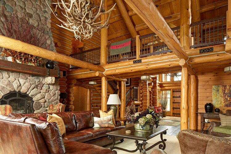 Wisconsin Hunting Lodge Bruce Kading Interior Design