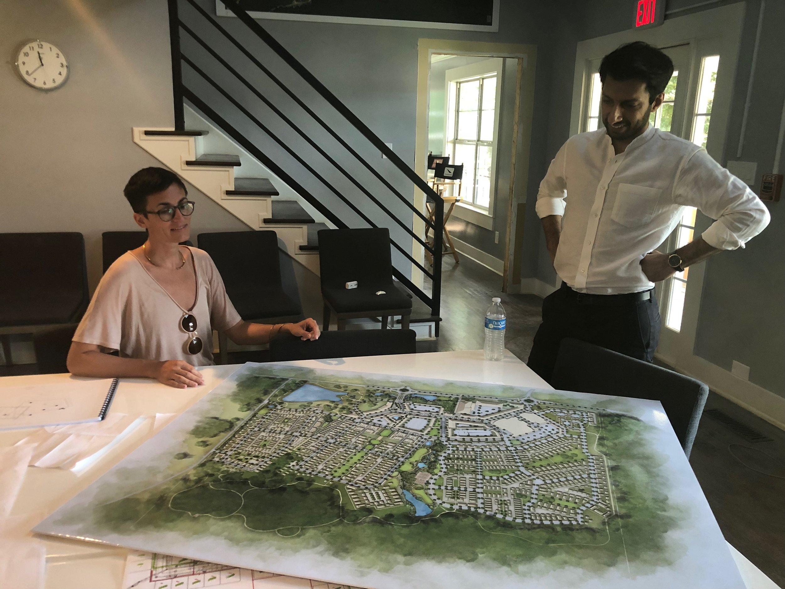 Joy with expert architect, Danish Kurani