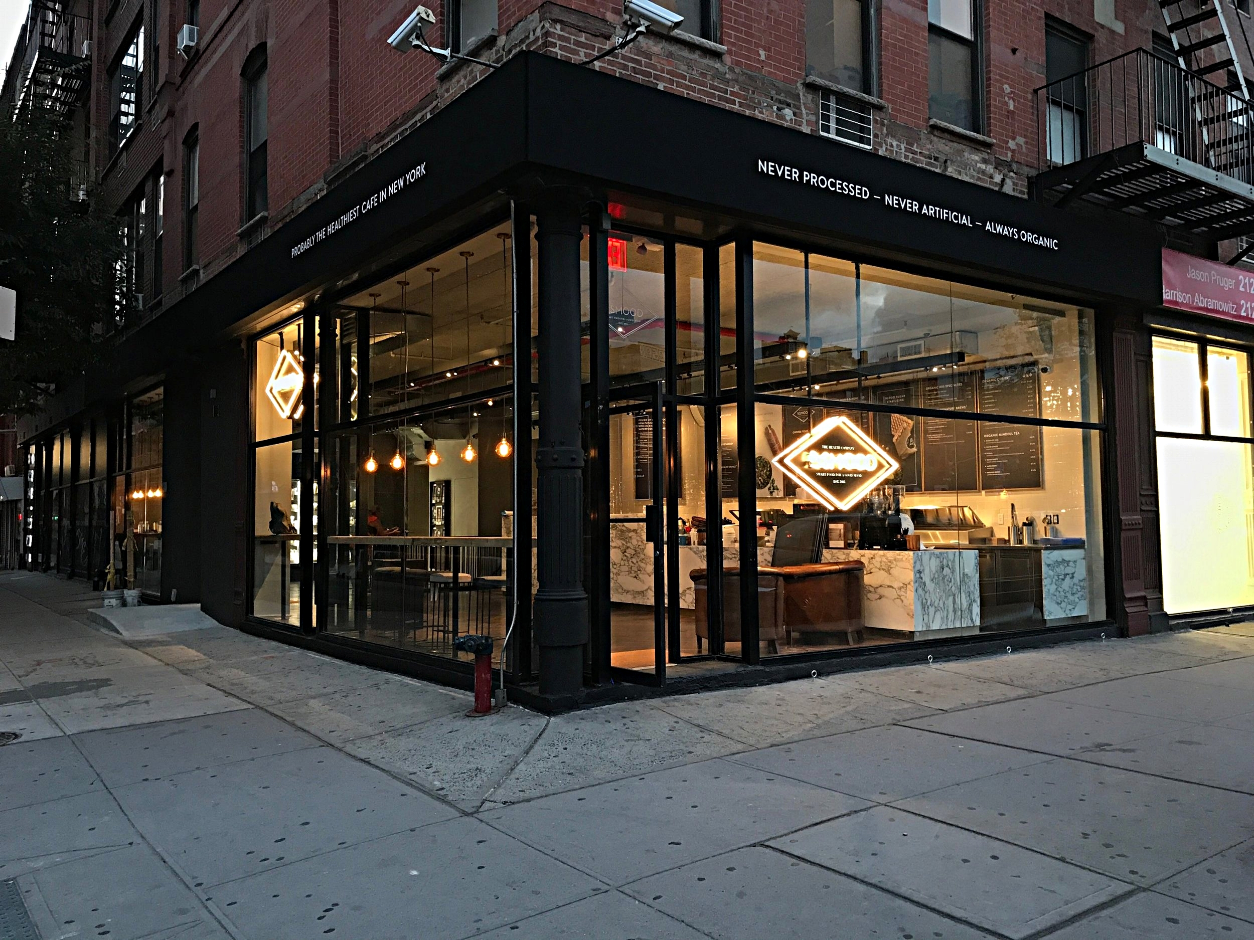 Dr. Smood    181E. Houston St. New York, NY 10002