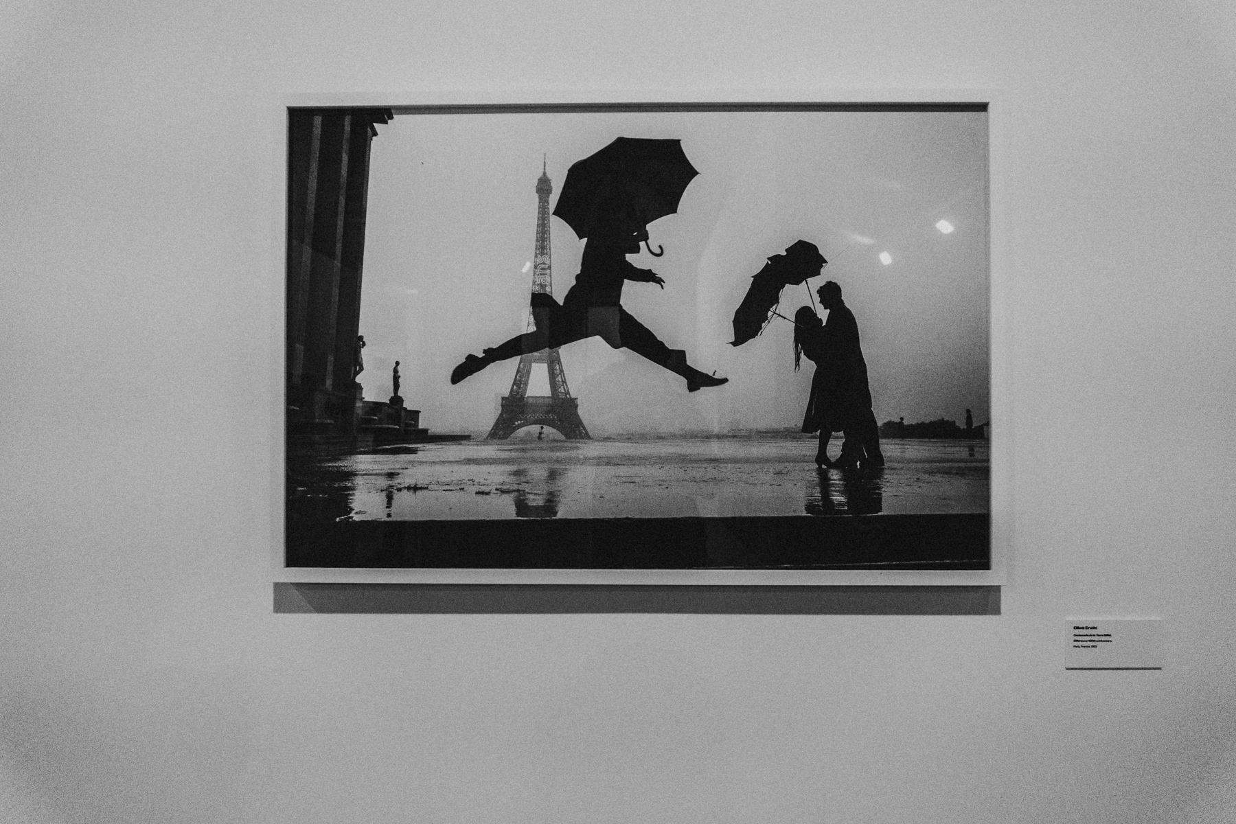 """And with my friend Andrés we visited some expositions in Madrid, this photo was taken at the """"Players"""" Exposition organized by the Magnum Photography Agency."""